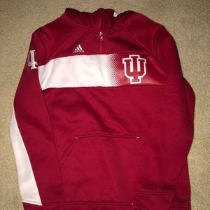Adidas Hooded Sweatshirt Size Large (14/16)